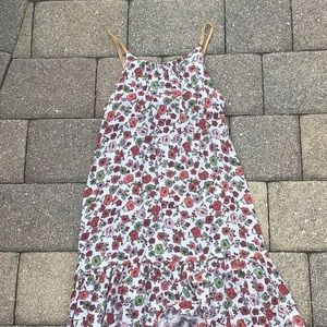 A flower dress (cute) just doesn't fit me